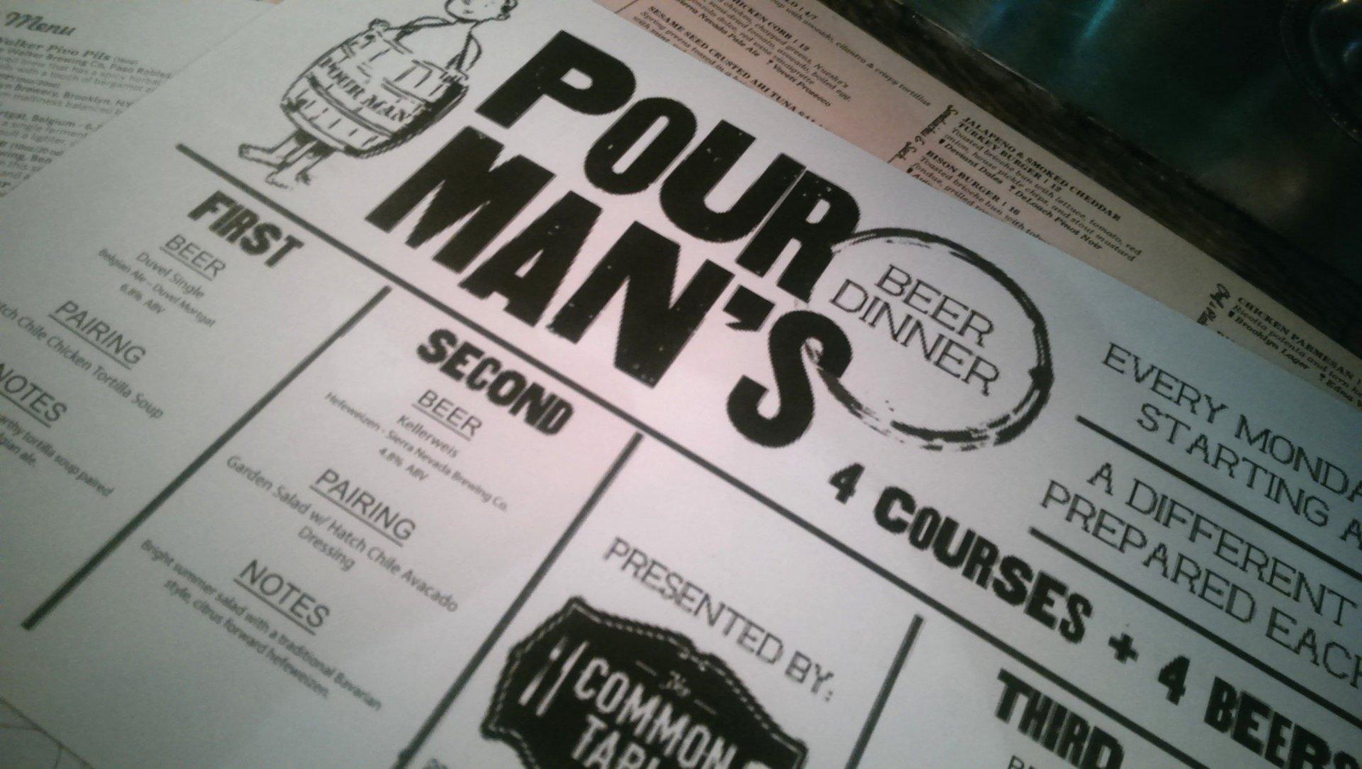 Poor Man's Beer Dinner